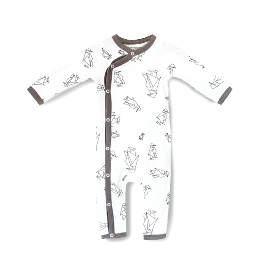 Pyjama Moon monster - motif cocotte coton bio