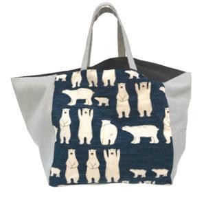 sac à jouets -motif ours