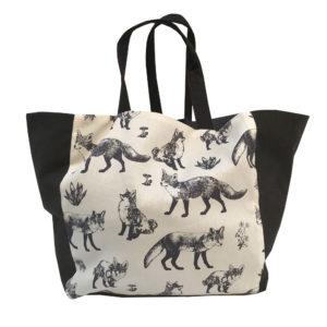 sac à jouets -motif renard