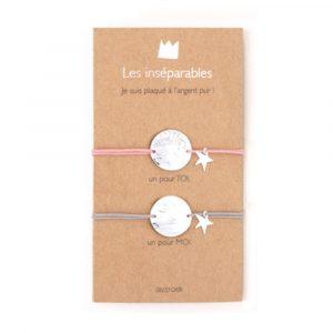 Les inséparables - petites moon - créateur Grizzly Chéri