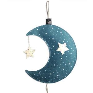 Veuilleuse lune