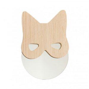 Miroir chat masqué - création April Eleven