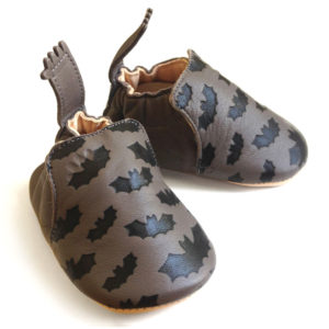 Chaussons Easy peasy blumoo batman taupe