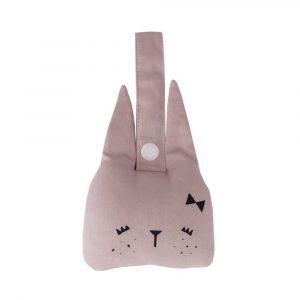 Petite lapine - hochet - création Fabelab