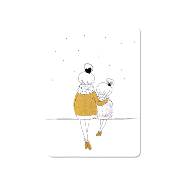 my lovely thing - carte - Love mom and girl