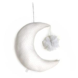 Lune Pompon Pétillant à accrocher ou à suspendre