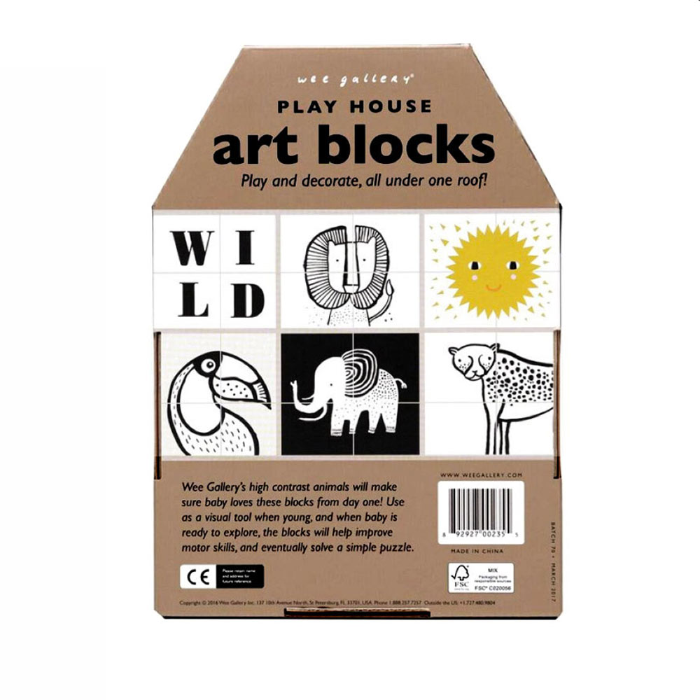 weegallery-art blocks-LION