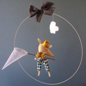 L'attrapeur de nuage - Rose Minuscule