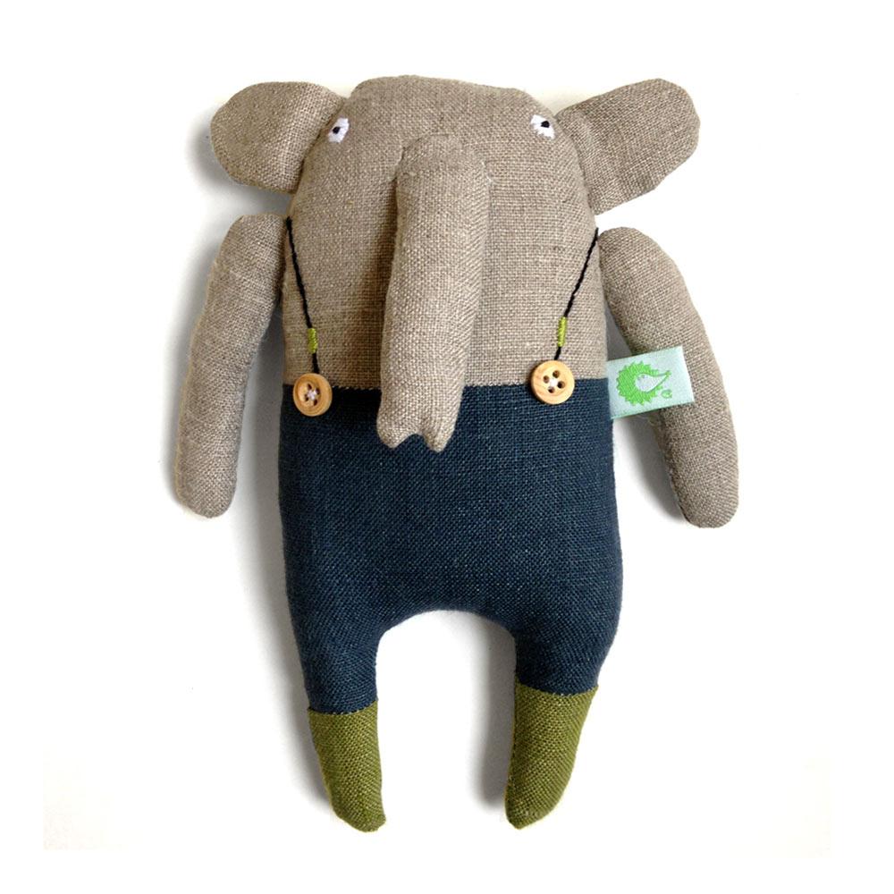 éléphant en salopette - créateur Adatine
