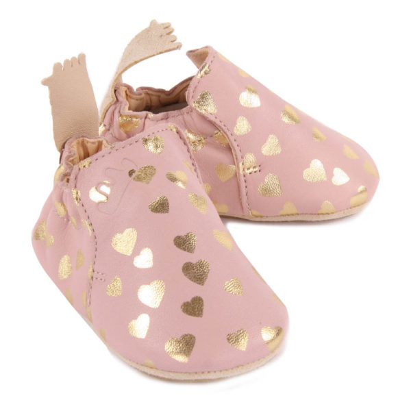 Chaussons Easy peasy Blublu Lovely vieux rose