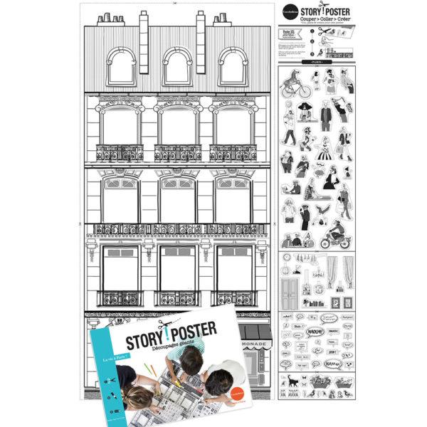 Story Poster - Paris - Cocobohème