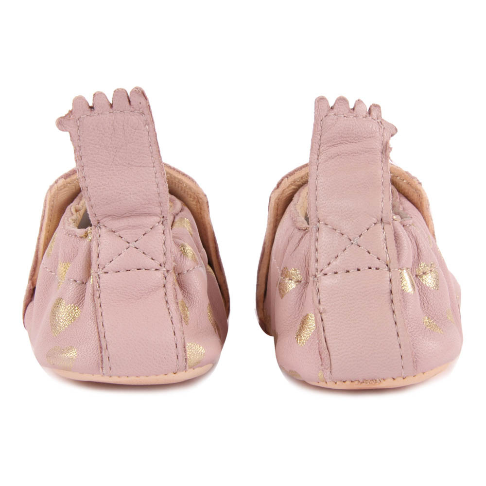 Chaussons Easy peasy Lovely vieux rose