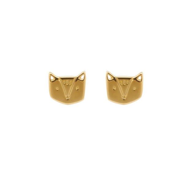 boucles d'oreilles fox Grizzly chéri
