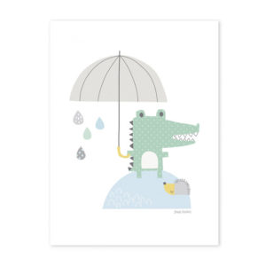 affiche lilipinso - crocodile