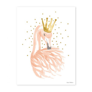 affiche lilipinso - flament rose