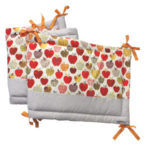 tour de lit - Petits Parisiens - motif apples