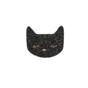 Obi obi - broche chat noir