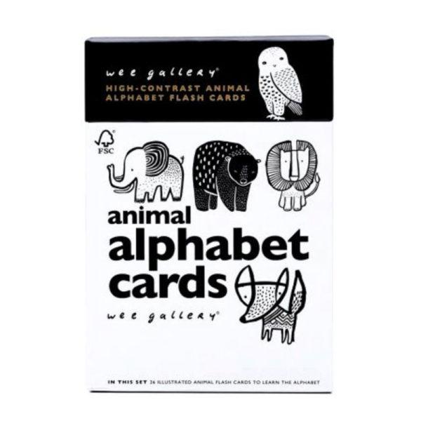 wee gallery - cartes alphabet