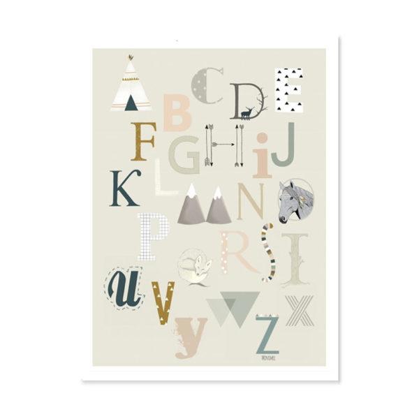 Minimel - abecedaire