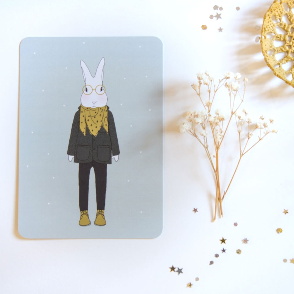 my lovely thing - carte Camille en hiver