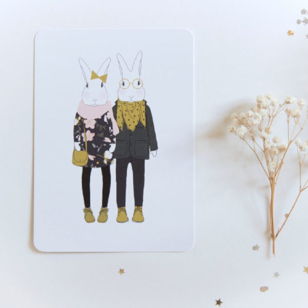 my lovely thing - carte Camille et Joséphine