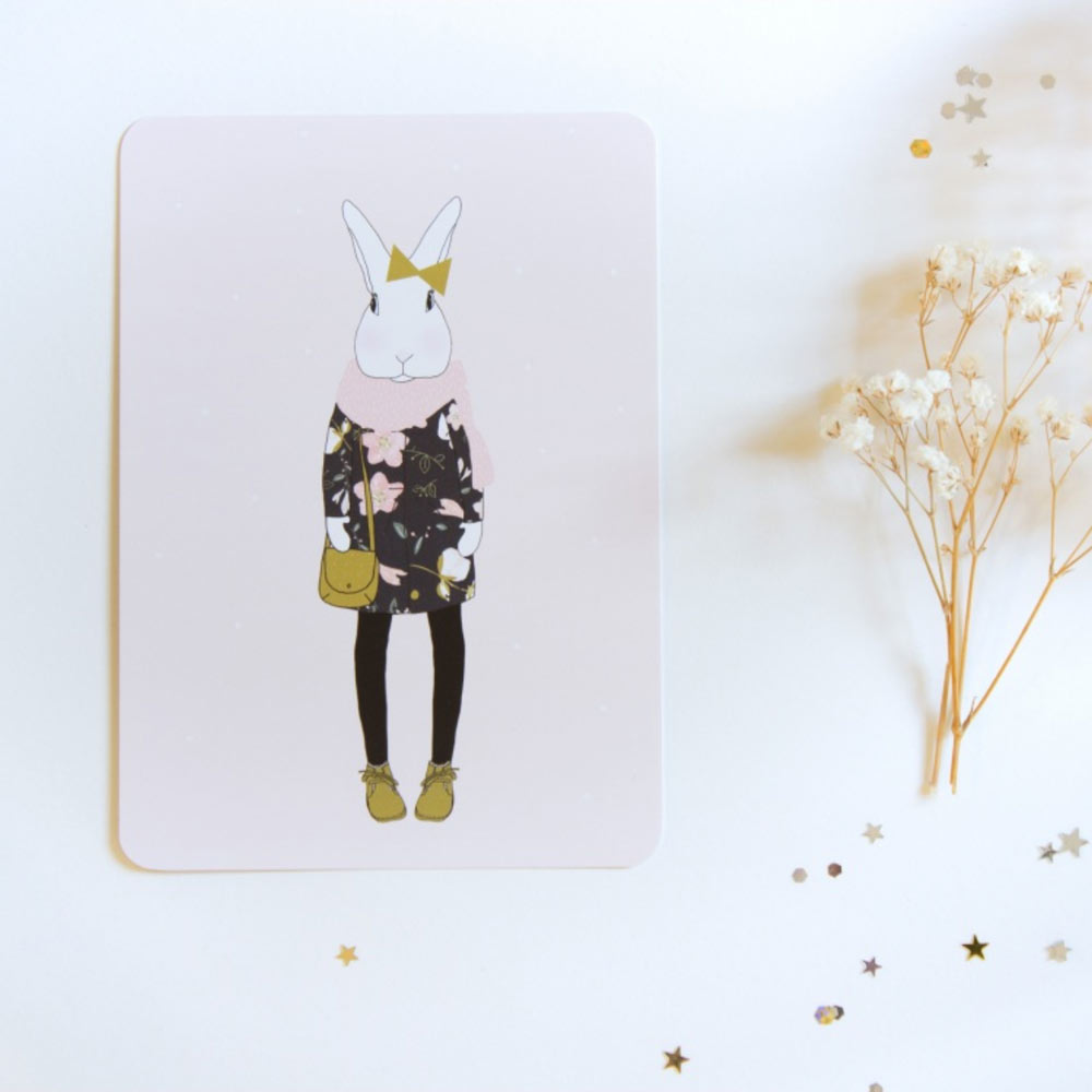 my lovely thing - carte Joséphine en hiver