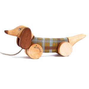 friendlytoys - chien en bois