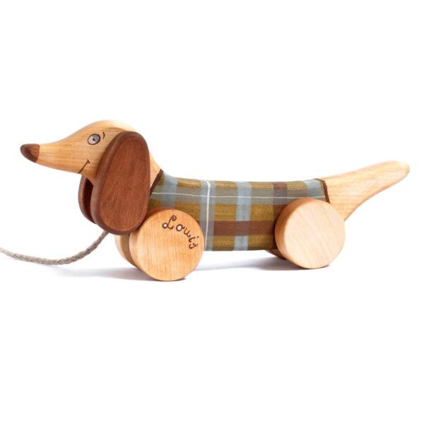 friendlytoys - chien en bois