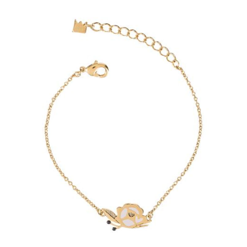 Grizzly cheri -bracelet rose