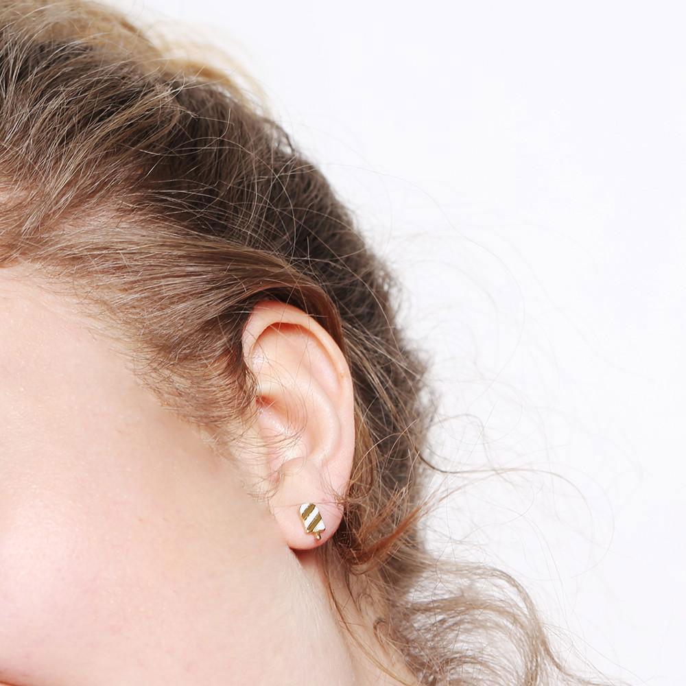 Grizzlycheri - Boucles d'oreilles -esquimau
