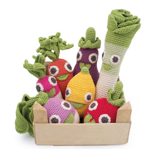 Myum -légumes en crochet