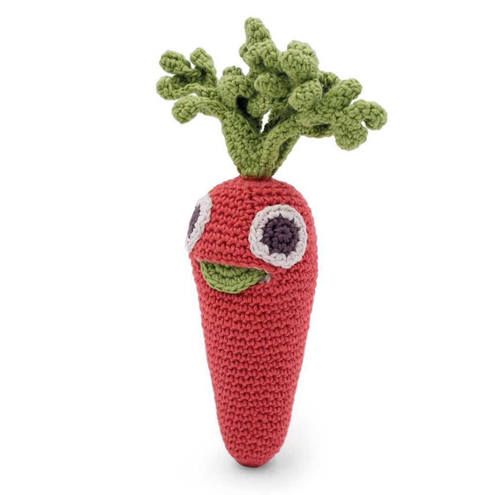 Myum- carotte en crochet