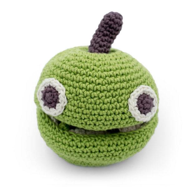 Myum pomme réversible en crochet
