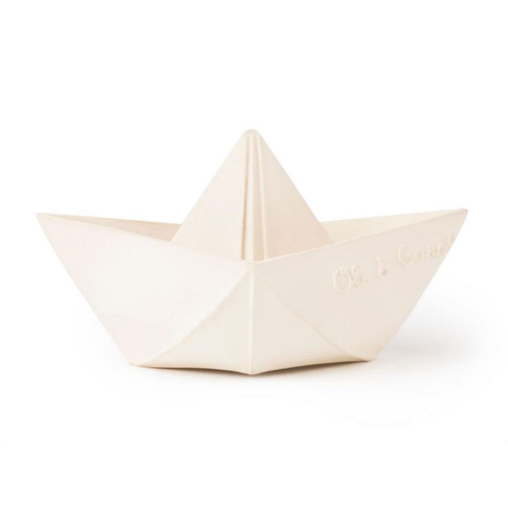 bateau origami - jouet de bain - Oli and Carol