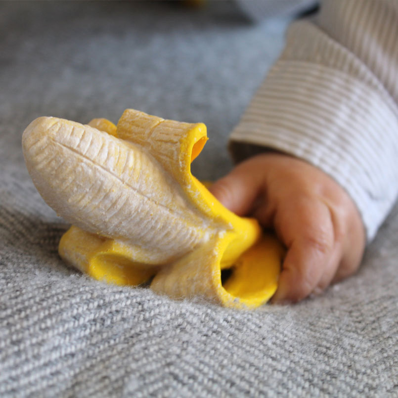 banane - jouet de bain - Oli and Carol