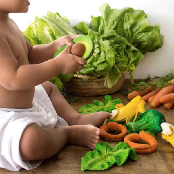 Fruits et légules -  jouet de bain - Oli and Carol