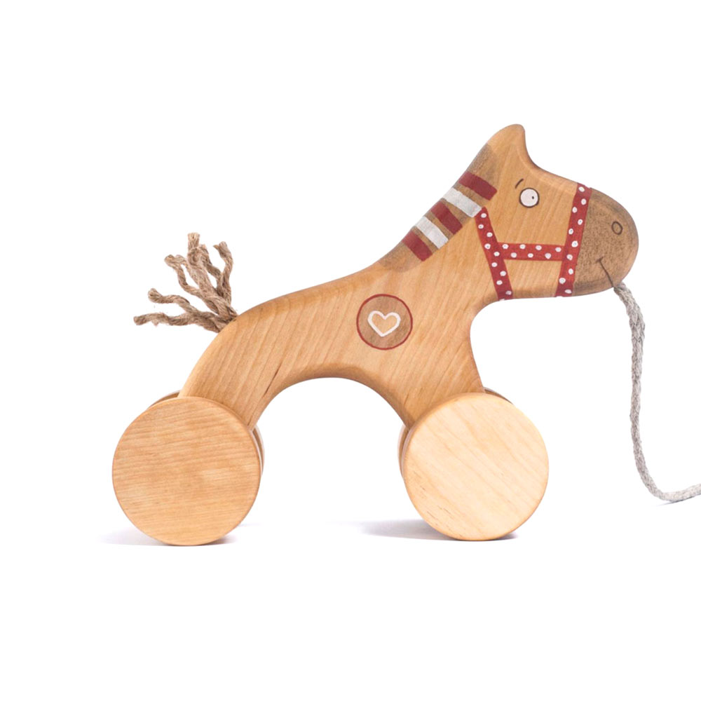 friendlytoys - cheval en bois