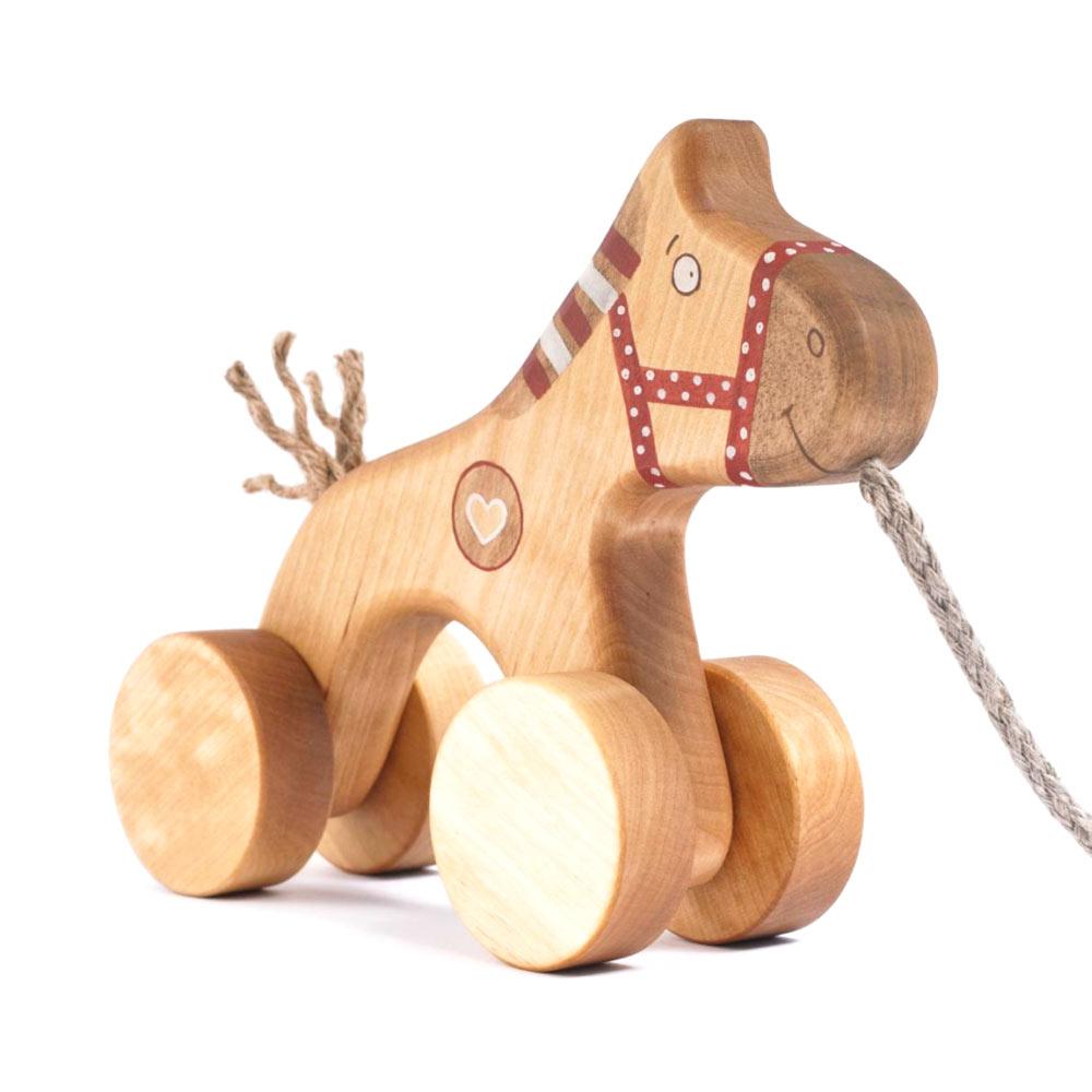 friendlytoys - cheval en bois