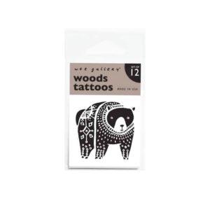 wee gallery tatouages éphémères - woods