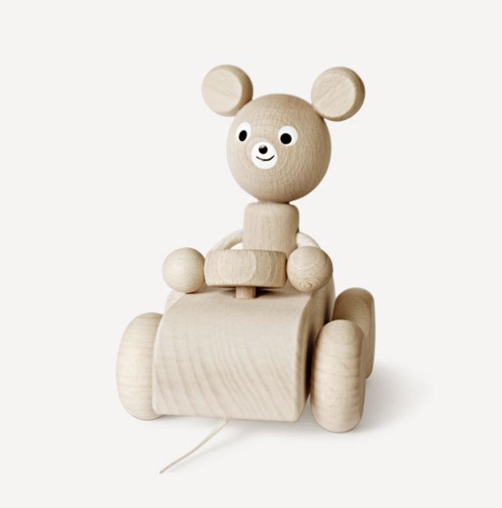 Ella-and-Frederick - souris en bois à tirer