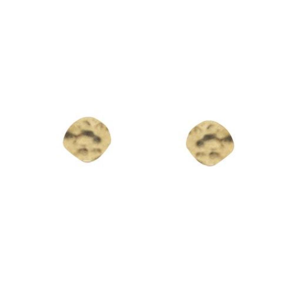 Grizzly-cheri - boucles d'oreille Petit Martelé