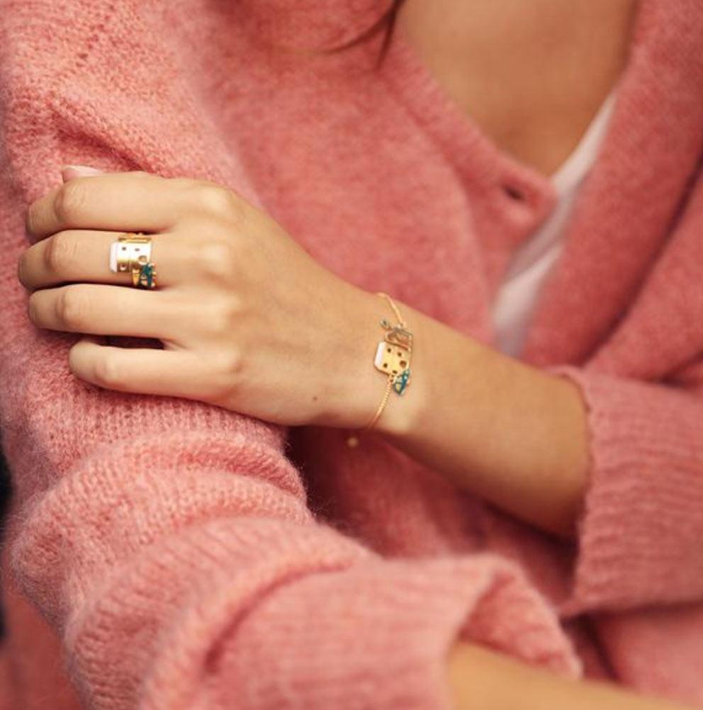 bracelet Sur les Toits - Grizzly cheri