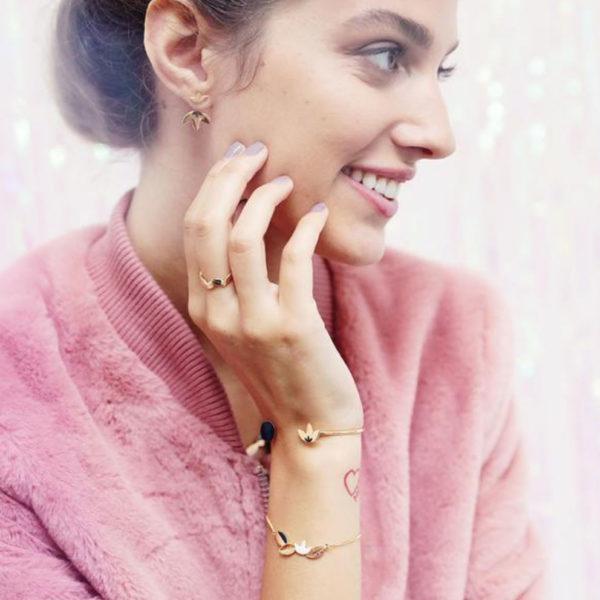 Grizzly cheri - bracelet Colette et Paillette
