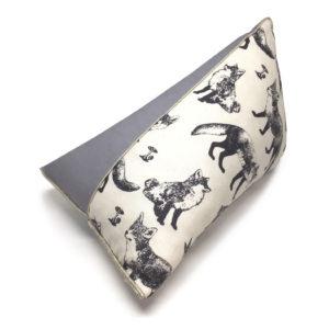 les folies douces - coussin berlingot renard blanc