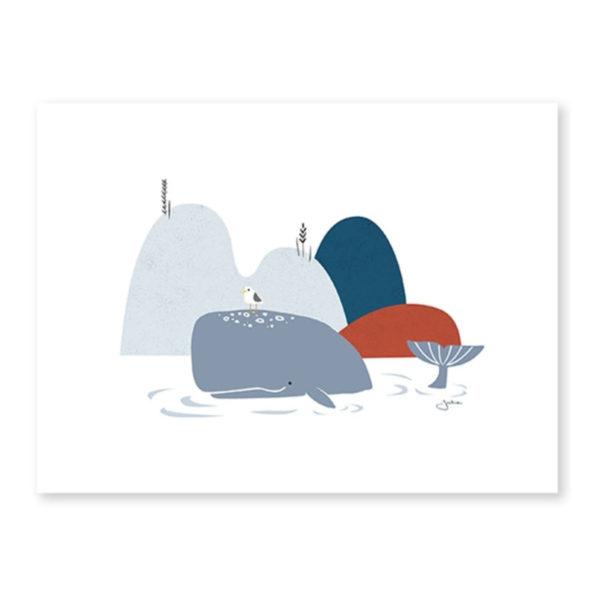 affiche lilipinso-baleine