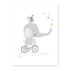 affiche lilipinso - elephant