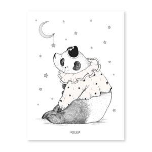 affiche lilipinso-panda