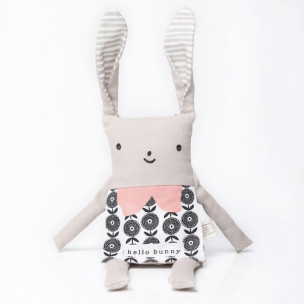 Wee-Gallery - doudou lapin flippy friend