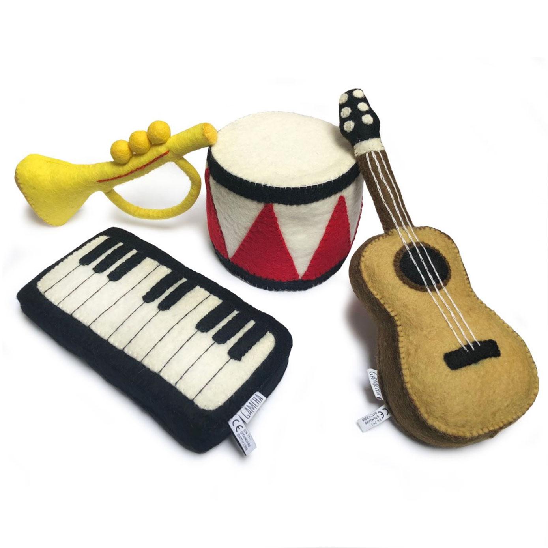 Gamcha instruments de musique feutre
