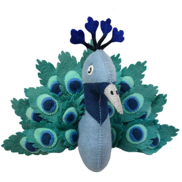 Gamcha-paen-bleu feutre